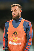 Sunderland forward Steven Fletcher during the Barclays Premier League match between Crystal Palace and Sunderland at Selhurst Park, London, England on 23 November 2015. Photo by Simon Davies.