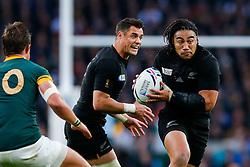 New Zealand Inside Centre Ma'a Nonu in action - Mandatory byline: Rogan Thomson/JMP - 07966 386802 - 24/10/2015 - RUGBY UNION - Twickenham Stadium - London, England - South Africa v Wales - Rugby World Cup 2015 Semi Finals.
