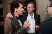 ADAM WISHART; STEFAN TURNBULL;  Launch of the Orange restaurant, 37 Pimlico Road, SW1W 8NE,  Thursday 29 October 2009