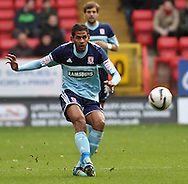 Picture by David Horn/Focus Images Ltd +44 7545 970036.03/11/2012.Faris Haroun of Middlesbrough during the npower Championship match at The Valley, London.