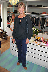NICOLA FORMBY at a Cupcake & Tea Party to celebrate the launch of the C de C children's boutique at 133 Fulham Road, London SW3 on 11th October 2011.