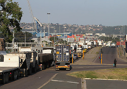 South Africa - Durban - 20 May 2020 - Traffic congestion at Bayhead port caused by trucks<br /> Picture; Doctor Ngcobo/African News Agency(ANA)