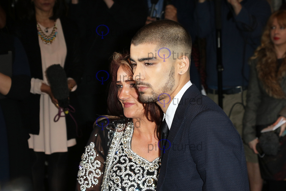Trisha Malik, Zayn Malik, The Asian Awards, Grosvenor House Hotel, London UK, 17 April 2015, Photo by Richard Goldschmidt