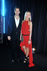 MARLON & NADYA ABELA at a party to celebrate the launch of the new 2&8 club at Morton's Berkeley Square, London on 27th September 2012.
