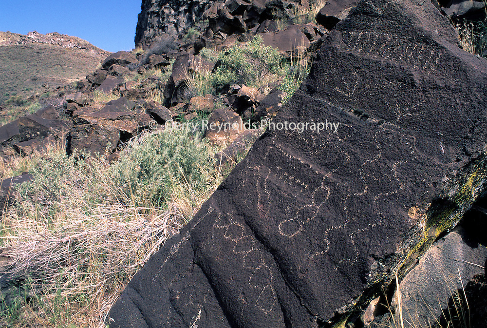Pictographs, Native American Pictographs, Pictographs, Owyhee River, Owyhee River Canyon, Oregon