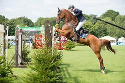 Zetterman Royne (SWE) - Echo De Laubry<br /> Furusiyya FEI Nations Cup<br /> International Horse Show - Hickstead 2014<br /> © Hippo Foto - Jon Stroud