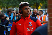 Patrick van Aanholt (3) of Crystal Palace arriving at the Vitality Stadium before the Premier League match between Bournemouth and Crystal Palace at the Vitality Stadium, Bournemouth, England on 1 October 2018.