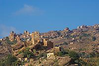 Yemen, région des Hauts Plateaux. // Yemen, central mountains.