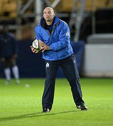 Bristol Rugby Forwards coach Steve Borthwick.  - Mandatory byline: Alex James/JMP - 27/11/2015 - RUGBY - Ashton Gate - Bristol, England - Bristol Rugby v London Scottish - Greene King IPA Championship
