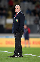 Rugby Union - 2017 British & Irish Lions Tour of New Zealand - The Blues vs. British & Irish Lions<br /> <br /> Warren Gatland at Eden Park, Auckland.<br /> <br /> COLORSPORT/LYNNE CAMERON
