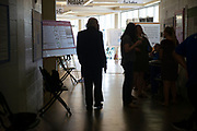 Ohio University students showcase their work at the 2019 Student Expo on April 11, 2019. Photo by Hannah Ruhoff