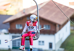 19.12.2014, Nordische Arena, Ramsau, AUT, FIS Nordische Kombination Weltcup, Skisprung, PCR, im Bild Jason Lamy Chappuis (FRA) // during Ski Jumping of FIS Nordic Combined World Cup, at the Nordic Arena in Ramsau, Austria on 2014/12/19. EXPA Pictures © 2014, EXPA/ JFK