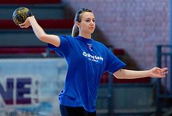 Amra Pandzic at practice of Slovenian Handball Women National Team, on June 3, 2009, in Arena Kodeljevo, Ljubljana, Slovenia. (Photo by Vid Ponikvar / Sportida)