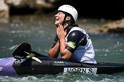 Stefanie HORN of Italy during the Canoe Single (WK1) Womens Final race of 2019 ICF Canoe Slalom World Cup 4, on June 28, 2019 in Tacen, Ljubljana, Slovenia. Photo by Sasa Pahic Szabo / Sportida