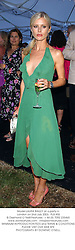 Model LAURA BAILEY at a party in London on 2nd July 2003. PLB 455