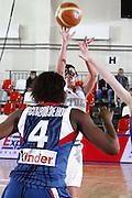 DESCRIZIONE : Valmiera Latvia Lettonia Eurobasket Women 2009 Francia Italia France Italy<br /> GIOCATORE : Chiara Pastore<br /> SQUADRA : Italia Italy<br /> EVENTO : Eurobasket Women 2009 Campionati Europei Donne 2009 <br /> GARA : Francia Italia France Italy<br /> DATA : 07/06/2009 <br /> CATEGORIA : tiro<br /> SPORT : Pallacanestro <br /> AUTORE : Agenzia Ciamillo-Castoria/E.Castoria