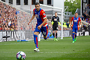 Crystal palace midfielder Luka Milivojevic during the Premier League match between Crystal Palace and Hull City at Selhurst Park, London, England on 14 May 2017. Photo by Andy Walter.