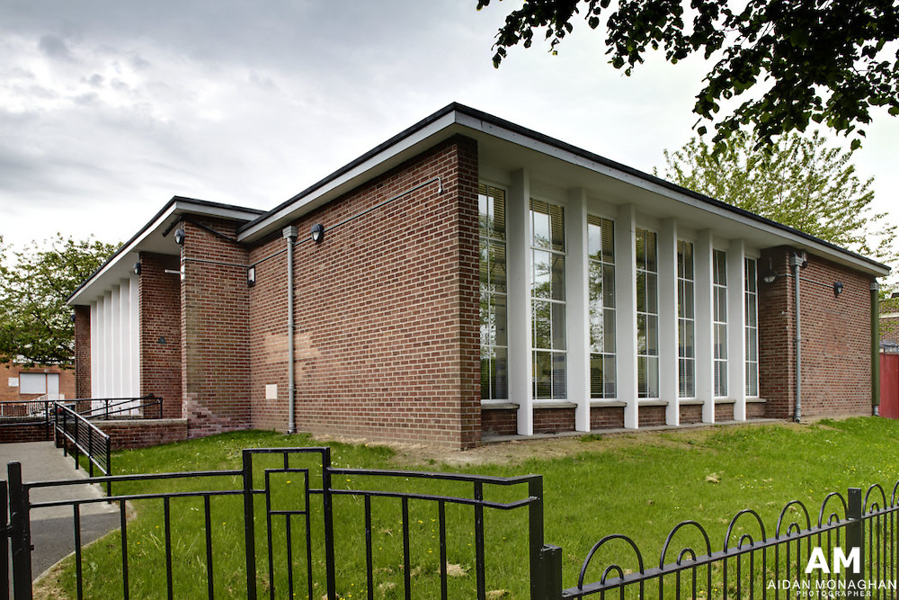 Building:  Ormeau Road Library Belfast<br />
