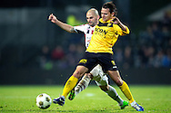 Onderwerp/Subject: VVV Venlo - Willem II - Eredivisie<br /> Reklame:  <br /> Club/Team/Country: <br /> Seizoen/Season: 2012/2013<br /> FOTO/PHOTO: Ricky VAN HAAREN (R) of VVV Venlo in duel with Hans MULDER (L) of Willem II. (Photo by PICS UNITED)<br /> <br /> Trefwoorden/Keywords: <br /> #04 #17 $94 ±1342772867474<br /> Photo- & Copyrights © PICS UNITED <br /> P.O. Box 7164 - 5605 BE  EINDHOVEN (THE NETHERLANDS) <br /> Phone +31 (0)40 296 28 00 <br /> Fax +31 (0) 40 248 47 43 <br /> http://www.pics-united.com <br /> e-mail : sales@pics-united.com (If you would like to raise any issues regarding any aspects of products / service of PICS UNITED) or <br /> e-mail : sales@pics-united.com   <br /> <br /> ATTENTIE: <br /> Publicatie ook bij aanbieding door derden is slechts toegestaan na verkregen toestemming van Pics United. <br /> VOLLEDIGE NAAMSVERMELDING IS VERPLICHT! (© PICS UNITED/Naam Fotograaf, zie veld 4 van de bestandsinfo 'credits') <br /> ATTENTION:  <br /> © Pics United. Reproduction/publication of this photo by any parties is only permitted after authorisation is sought and obtained from  PICS UNITED- THE NETHERLANDS
