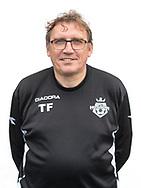 FODBOLD: Holdleder Torben Fleischer ved FC Helsingør's officielle fotosession den 3. oktober 2017 på Helsingør Stadion. Foto: Claus Birch
