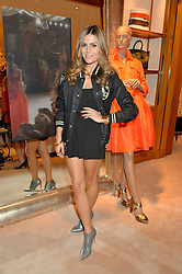 ZOE HARDMAN at a party to celebrate the publication of Front Roe by Louise Roe held at Ralph Lauren, 1 New Bond Street, London on 1st April 2015.