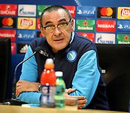 Manchester City vs Naples: Press Conference - 31 Oct 2017