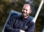 AMSTELVEEN - coach Jesse Mahieu (Pinoke). Hoofdklasse competitie heren. Pinoke-SCHC (0-1) . COPYRIGHT  KOEN SUYK