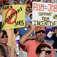 NC Film Incentives Rally