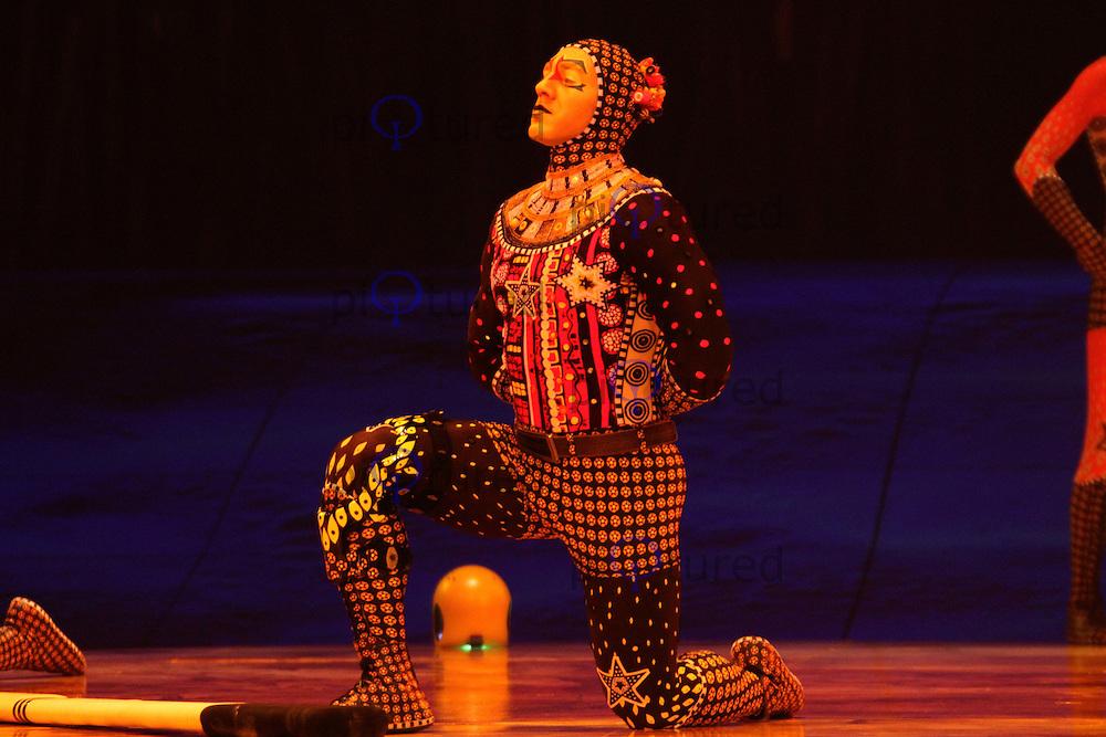 Cirque Du Soleil Totem Russian Bars Royal Albert Hall, London, UK, 04 January 2011:  Contact: Ian@Piqtured.com +44(0)791 626 2580 (Picture by Richard Goldschmidt)