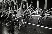 ITALY-TURIN, SOCIAL TENSIONS IN THE 70'S