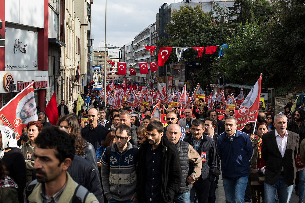 Suphi Nejat Agirnasli was killed on October 5 while fighting alongside besieged Kurds in the town of Kobane of northern Syria. Agirnasli, a 30-year-old Turkish-German, was a member of Turkey's banned Marxist-Leninist Communist Party (MLKP). He was not ethnically Kurdish, but in August he left his home in Istanbul to join the People's Protection Units (YPG), an armed Syrian-Kurdish group that in recent months has defended Kurdish areas from ISIL's offensive. In September, after taking a number of Kurdish town in northern Syria, ISIL laid s siege to Kobane in a battle that is still raging. On Sunday, October 19, hundreds of mourners commemorated Agirnasli's death with a march through Istanbul's Kadikoy district.