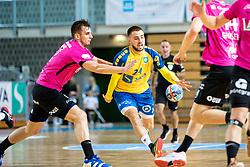 Diogo Borges Da Silva of RK Celje Pivovarna Lasko during handball match between RD Koper and RK Celje, on October 16, 2019, in Dvorana Bonifika, Koper / Capodistria, Slovenia. Photo by Matic Klansek Velej / Sportida.