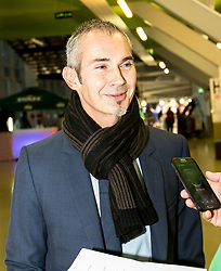 16.01.2018, Zatika Sport Centre, Porec, CRO, EHF EM, Herren, Interview mit Francois-Xavier Houlet, Gruppe B, im Bild Francois-Xavier Houlet // during an interview with Francois-Xavier Houlet during the EHF men's Handball European Championship at the Zatika Sport Centre in Porec, Croatia on 2018/01/16. EXPA Pictures © 2018, PhotoCredit: EXPA/ Sebastian Pucher