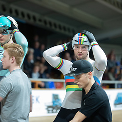 28-12-2019: Wielrennen: NK Baan: Alkmaar<br />Mathijs Buchli, Theo Bos