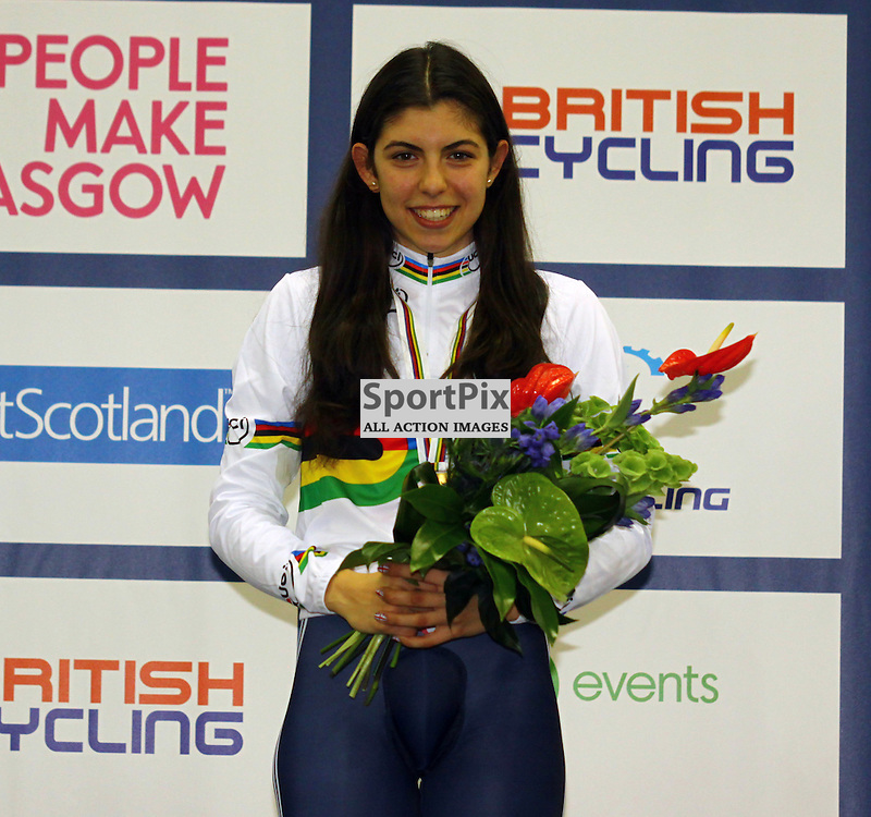 Dannielle Khan tokk gold in the womens 500m time trial (c) Craig Jardine | sportpix.org.uk