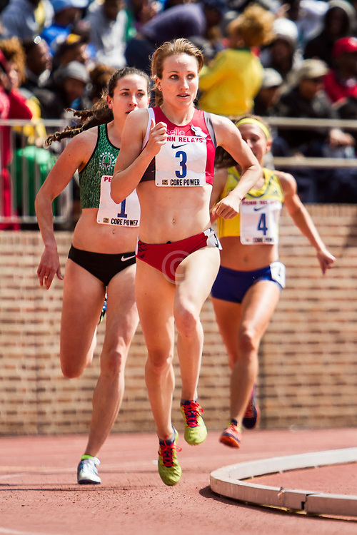 Penn Relays, womens Olympic Development Mile, Kerri Gallagher, NYAC/Oiselle