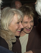 HELEN MIRREN AND ZOE WANAMAKER, Discover Wilton's Music Hall, Fundraising event. Graces alley, Ensign St. London. 5 December 2007. -DO NOT ARCHIVE-© Copyright Photograph by Dafydd Jones. 248 Clapham Rd. London SW9 0PZ. Tel 0207 820 0771. www.dafjones.com.