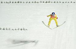06-02-2014 SCHANSSPRINGEN: OLYMPIC GAMES: SOTSJI<br /> Training Schansspringen op het Russki Gorki Jumping Center / Rune Velta NOR<br /> ©2014-FotoHoogendoorn.nl<br />  / Sportida