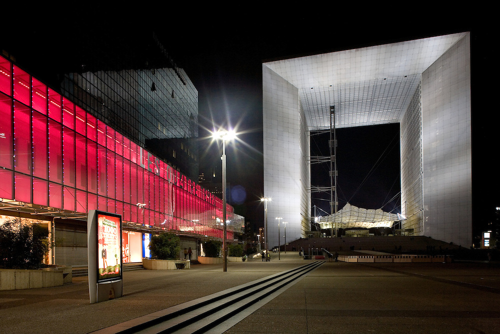 The Grande Arche- In Paris, France