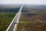 Aerojet's C-111 Canal passes just north of the Everglades National Park.  It provides water supply and flood protection to 100 square miles of agricultural land in its surrounding basin.