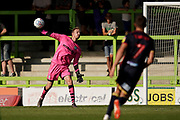Lewis Thomas of Forest Green Rovers throws the ball out during the EFL Sky Bet League 2 match between Forest Green Rovers and Stevenage at the New Lawn, Forest Green, United Kingdom on 21 September 2019.