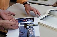 11 Giugno 2011 Galatina, Lecce..Primo giorno di stampa per Afghanistan CameraOscura, il libro fotogiornalistico di Kash Gabriele Torsello. .ISBN 978-88-90617300 | 320 Pagine | 180 Fotografie | Limited Edition | Pubblicazione 20/06/2011.Stampa a 4 colori più verniciatura su carta satinata opaca da 150gr..