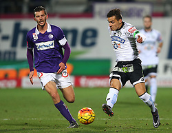 02.12.2015, Generali Arena, Wien, AUT, 1. FBL, FK Austria Wien vs SK Puntigamer Sturm Graz, 18. Runde, im Bild Alexander Gorgon (FK Austria Wien) und Kristijan Dobras (SK Puntigamer Sturm Graz) // during Austrian Football Bundesliga Match, 18th Round, between FK Austria Vienna and SK Puntigamer Sturm Graz at the Generali Arena, Vienna, Austria on 2015/12/02. EXPA Pictures © 2015, PhotoCredit: EXPA/ Thomas Haumer