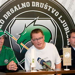 20101105: SLO, Ice Hockey - Press conference of HD Tilia Olimpija