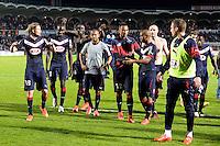 Joie Bordeaux - 12.04.2015 - Bordeaux / Marseille - 32eme journee de Ligue 1 <br /> Photo : Caroline Blumberg / Icon Sport