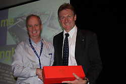 AO Week, Steve Gower(r)  presenting Richard Garrett(l) with a token of appreciation