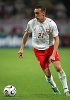 Gelsenkirchen 9/6/2006 World Cup 2006<br /> <br /> Poland Ecuador - Polonia Ecuador 0-2<br /> <br /> Photo Andrea Staccioli Graffitipress<br /> <br /> Ireneusz Jelen