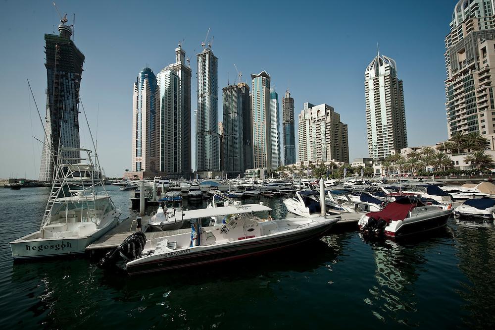 Dubai Marina, Dubai, UAE Archive of images of Dubai by Dubai photographer Siddharth Siva