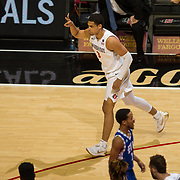 20 November 2017:  The San Diego State men's basketball team hosts Eastern Illinois University Monday night at Viejas Arena. The Aztecs beat Panthers 94-63 www.sdsuaztecphotos.com