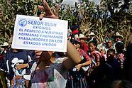 Guatemalans Protest President Bush's Visit
